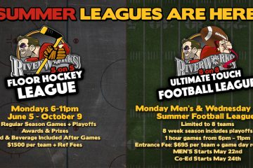 RIVERWORKS SUMMER SPORTS LEAGUES ARE HERE