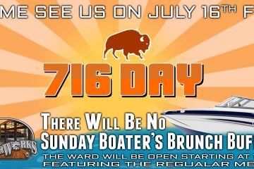ANNOUNCEMENT: BOATER'S BRUNCH ON HOLD THIS WEEKEND AT RIVERWORKS