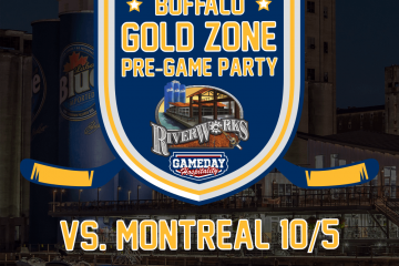 BUFFALO GOLD ZONE PRE-GAME PARTY – MONTREAL