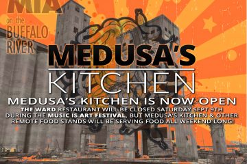 MEDUSA'S KITCHEN IS NOW OPEN