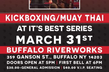Kickboxing/Muay Thai at It's Best Series MARCH 31st