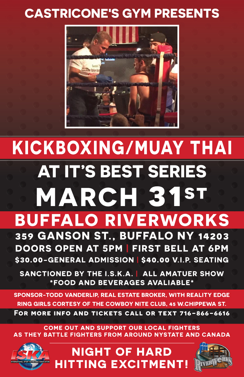 Kickboxingmuay Thai At Its Best Series March 31st