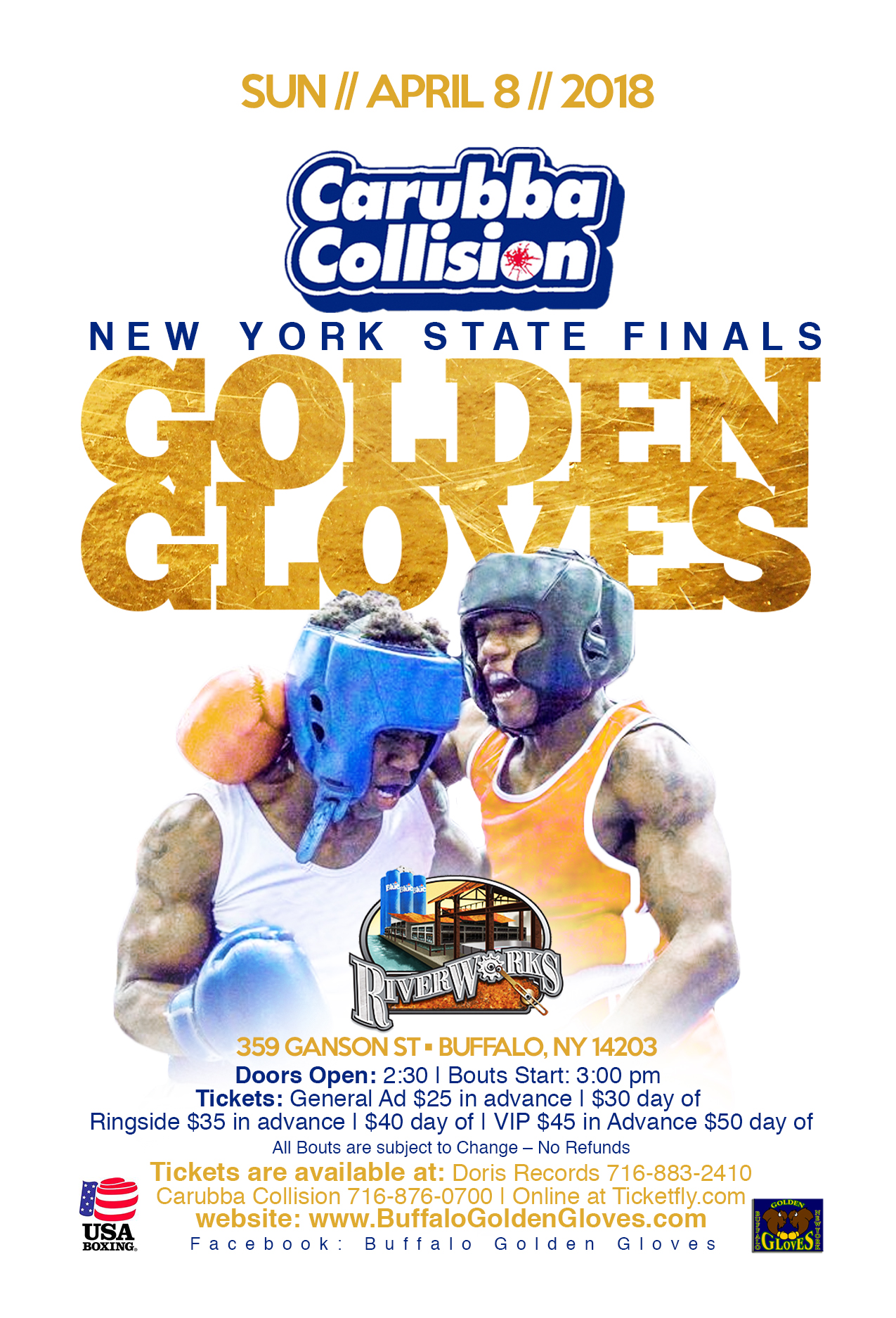 Golden Gloves Boxing: NYS Finals