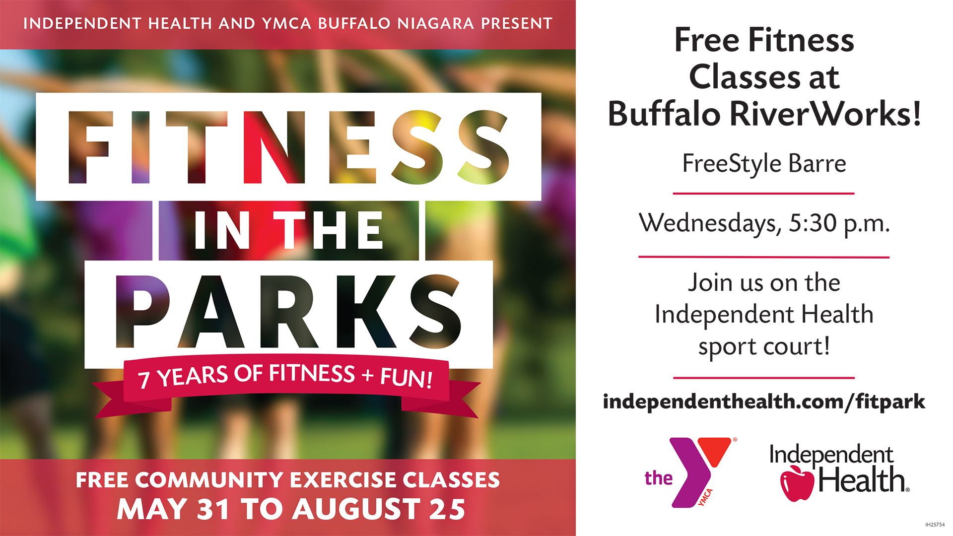 Independent Health presents Fitness In The Parks