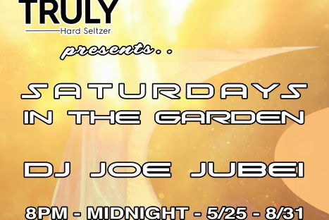 SATURDAYS IN THE GARDEN – DJ Joe Jubei