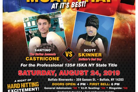 Castricone's Gym Kickboxing Muay Thai at it's BEST