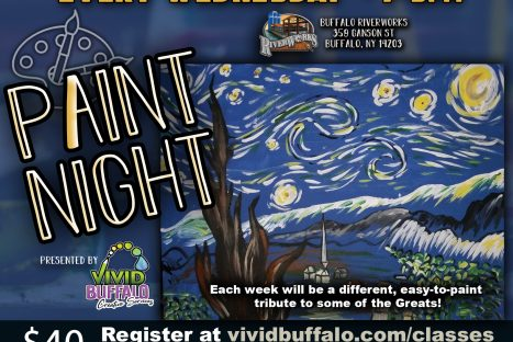 Paint Night presented by Vivid Buffalo