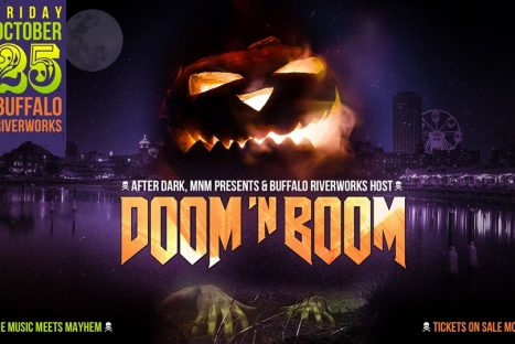 DOOM N BOOM: Halloween Oct 25 – Buffalo Riverworks