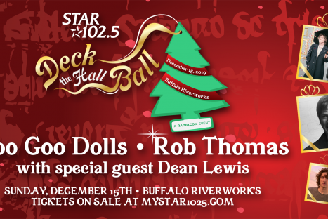 STAR 102.5 Deck The Hall Ball featuring Goo Goo Dolls & Rob Thomas ft. Dean Lewis