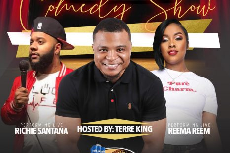 The Crews Group & Terre King Live presents: The Changemakers Reunion Comedy Show