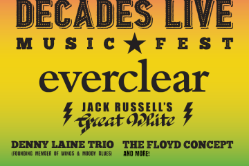 Decades Live – Music Fest: Music of the 60's, 70's, 80's & 90's