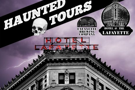 Haunted Tours: History & Ghost Overnight in The Hotel Lafayette