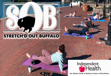 Stretchd Out Buffalo & RiverWorks Happy Hour